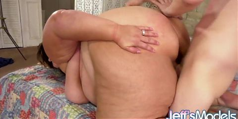 Jeffs Models - SSBBW Erin Green Taking Cock Compilation 5